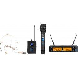 qwm 2 dual combo handheld earset 863 865 mhz