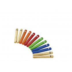 NINO PERCUSSION Set claves NINO502-MC