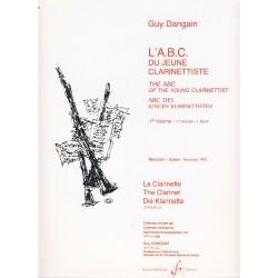 Dangain. El Abc del Joven Clarinetista Vol.1 (Clarinete)