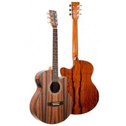 Guitarra Acustica Daytona A401CE Mini Jumbo ebano