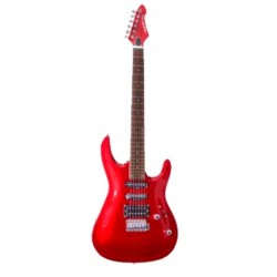 GUITARRA ARIA MAC-STD ROJO METALIZADO