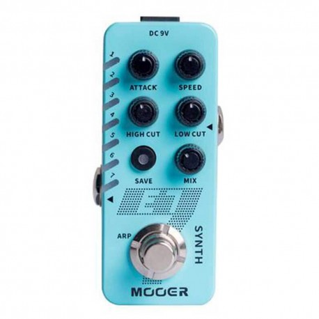 MOOER EFFECTS E7 Polyphonic Guitar Synth Pedal