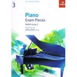 Piano Exam Pieces Grade 3
