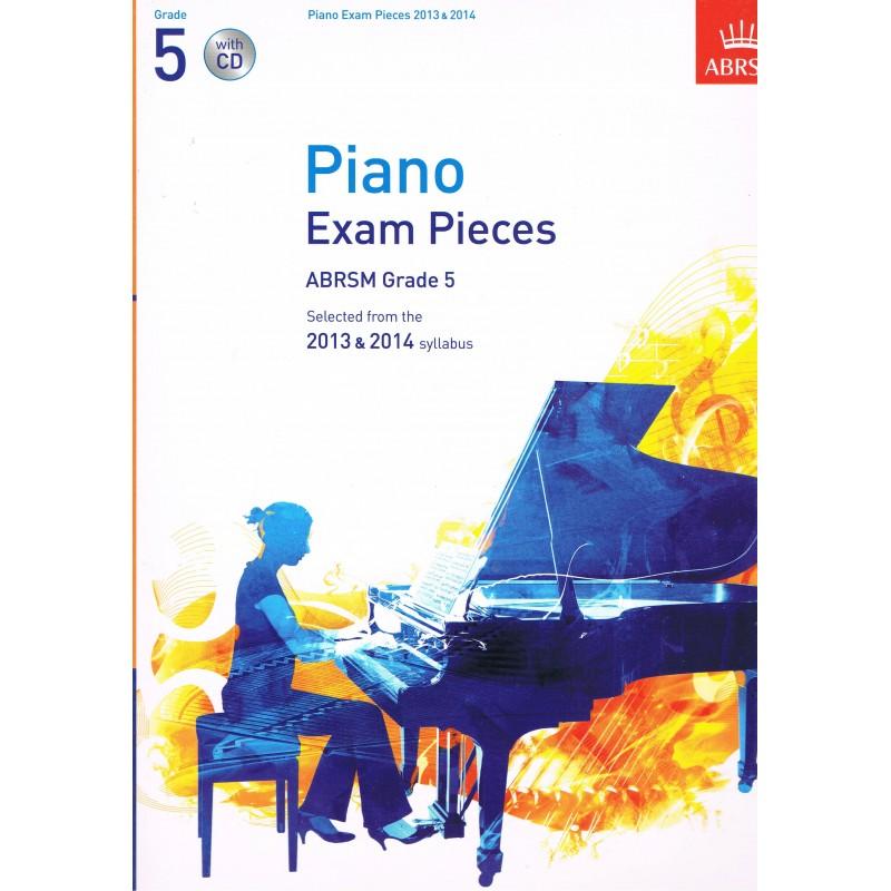 Piano Exam Pieces V.5 (2013-2014) +CD