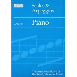 Piano Scales & Arpeggios V.8