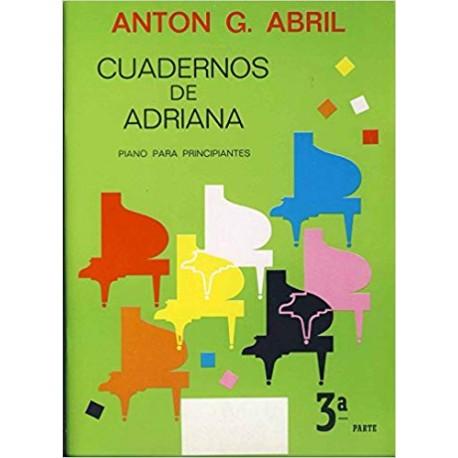 Garcia Abril. Cuadernos De Adriana Vol.3 (Piano)
