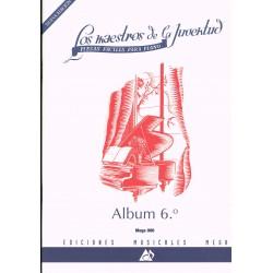 Varios. Los Maestros de la Juventud Vol.6 (Piano Fácil)