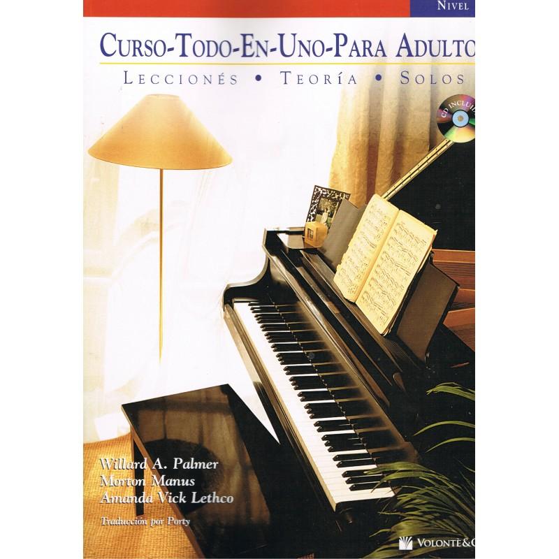 Palmer/Manus/Vick. Curso Todo En Uno Para Adultos 2 (Piano)