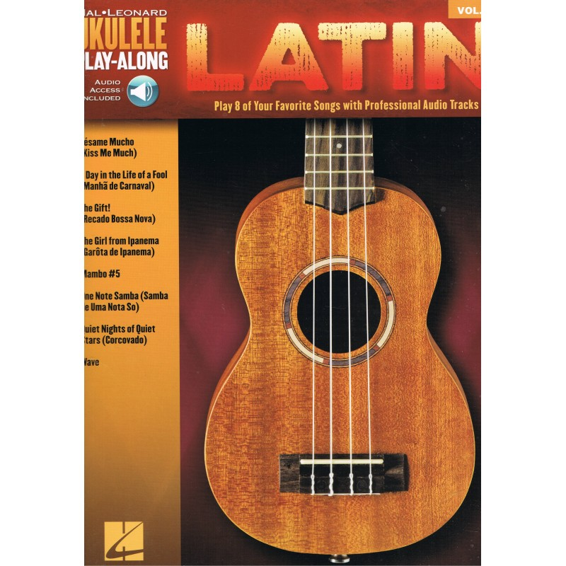 Varios. Ukelele Play-Along Vol.37 Latin (Audio Access Included)