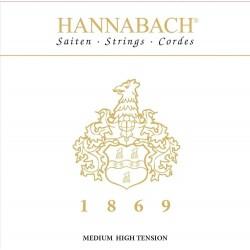 Cuerdas para guitarra clásica, Serie 1869 Carbon/Gold MHT