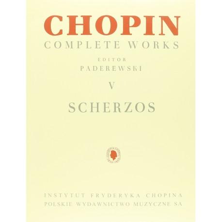 Chopin. Scherzos para Piano