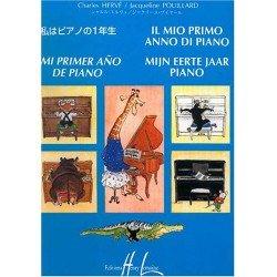 Herve/Pouillard. Mi Primer Año De Piano