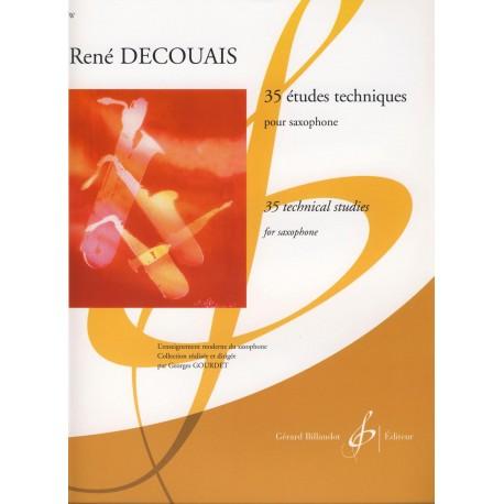 Decouais. 35 Estudios Técnicos (Saxofón)