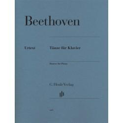 Beethoven. Danzas Para Piano (Urtext)
