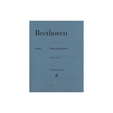 Beethoven. Danzas Para Piano (Urtext). Henle Verlag