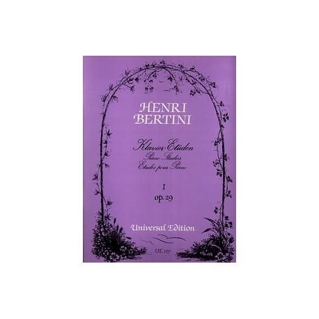 Bertini. Estudios para Piano Op.29. Universal Edition