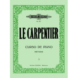 Le Carpentier. Curso De Piano Vol.1
