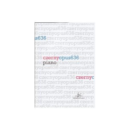 Czerny. 24 Estudios de Pequeña Velocidad Op.636