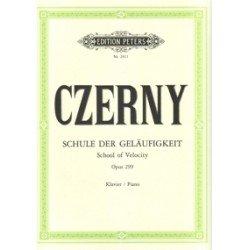 Czerny. Escuela De La Velocidad Op.299