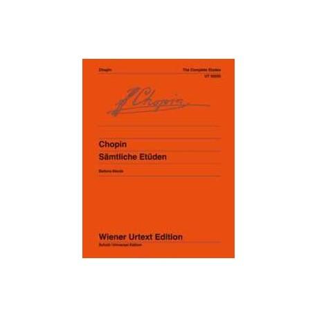 Chopin. Estudios Op.10, 25 y 3 Estudios Póstumos (Piano)