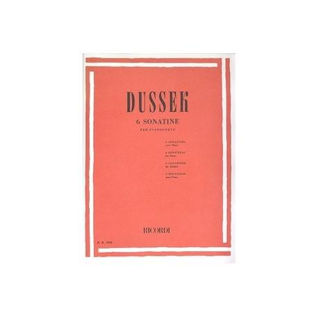Dussek. Sonatinas Op.20 (Piano)