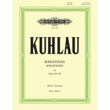 Kuhlau. Sonatinas para Piano Vol.2 Op.60/88