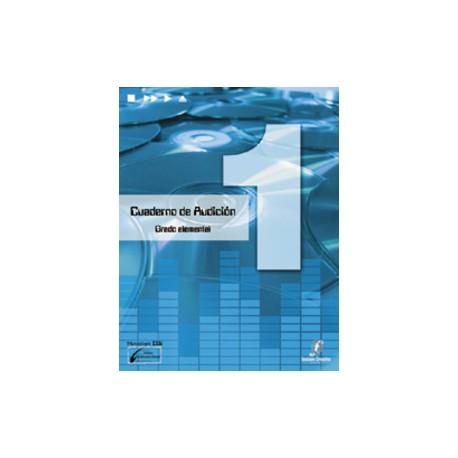 Cañada/Lopez/Molina. Cuaderno De Audicion 1 Grado Elemental +CD. Enclave Creativa