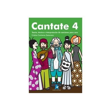 Contreras Zamorano, Cristina. Cantate 4. Teoría, Técnica e Interpretación de Canciones Para Coro