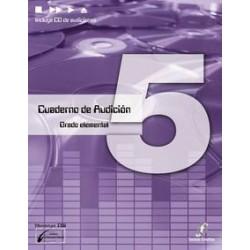 Cañada/Lopez/Molina. Cuaderno De Audicion 5 Grado Elemental