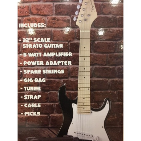 Pack guitarra el/éctrica tipo Stratocaster Daytona
