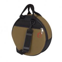 32X9 TAMBOURINE BAG WITH STRAP BICOLOR