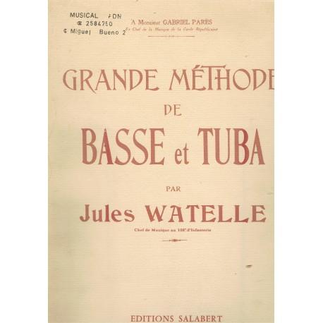 Watelle, Jules. Gran Método de Tuba. Salabert