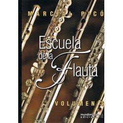 Picó, Marcial. Escuela de la Flauta Vol.3