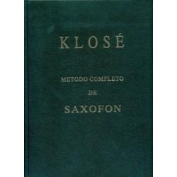 Klose. Método Completo de Saxofón