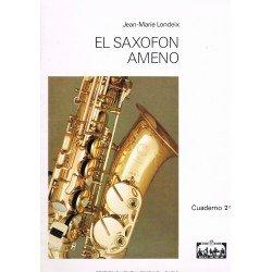 Londeix, Jean-Marie. El Saxofón Ameno Cuaderno 2º