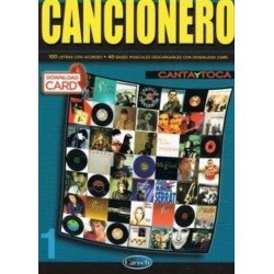 Varios. Cancionero 100 Letras y Acordes +40 Bases Musicales (Download Card)