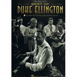 Duke Ellington. The Best Of. 16 Songs With Online Backing Tracks (Piano/Voz/Guitar)