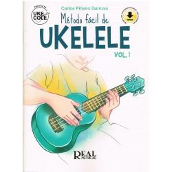 Piñeiro. Ukecole. Método Fácil de Ukelele. Bases de Acompañamiento Descargables