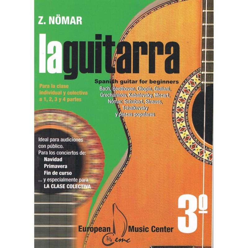 Nomar. La Guitarra 3º. Clase Individual y Colectiva