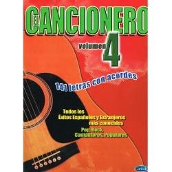 Varios. Cancionero Vol.4. 141 Letras con Acordes
