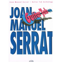 Serrat, Joan Manuel. Guitar Tab Anthology