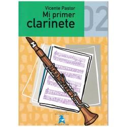 Pastor, Vicente. Mi Primer Clarinete 02