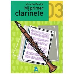 Pastor, Vicente. Mi Primer Clarinete 03