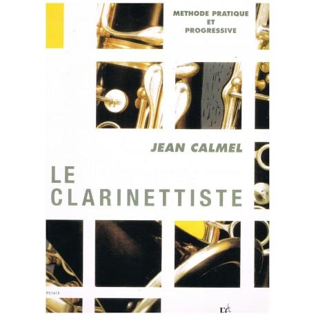 Calmel, Jean. Le Clarinettiste. Methode Pratique et Progressive. Combre
