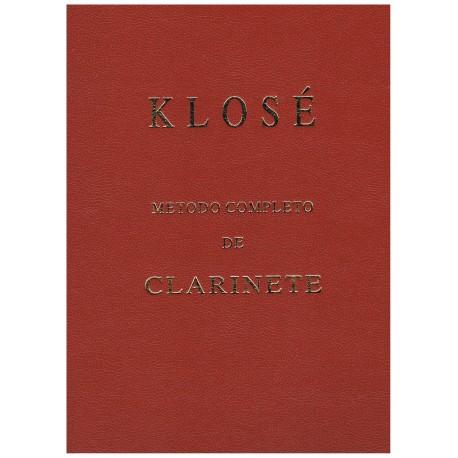 Klose. Método Completo de Clarinete. Ticó Música