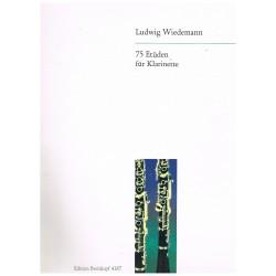 Wiedemann. 75 Estudios Para...