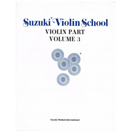 Suzuki Violin School Vol.3 (Violin Part)
