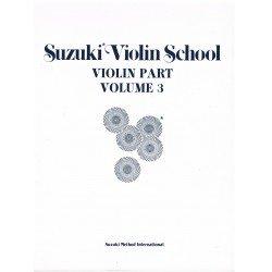 Suzuki Violin School Vol.3 (Violin Part)