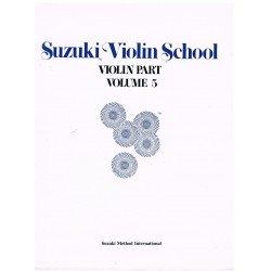 Suzuki Violin School Vol.5 (Violin Part)