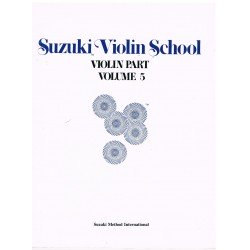 Suzuki Violin School Vol.5 (Violin Part)